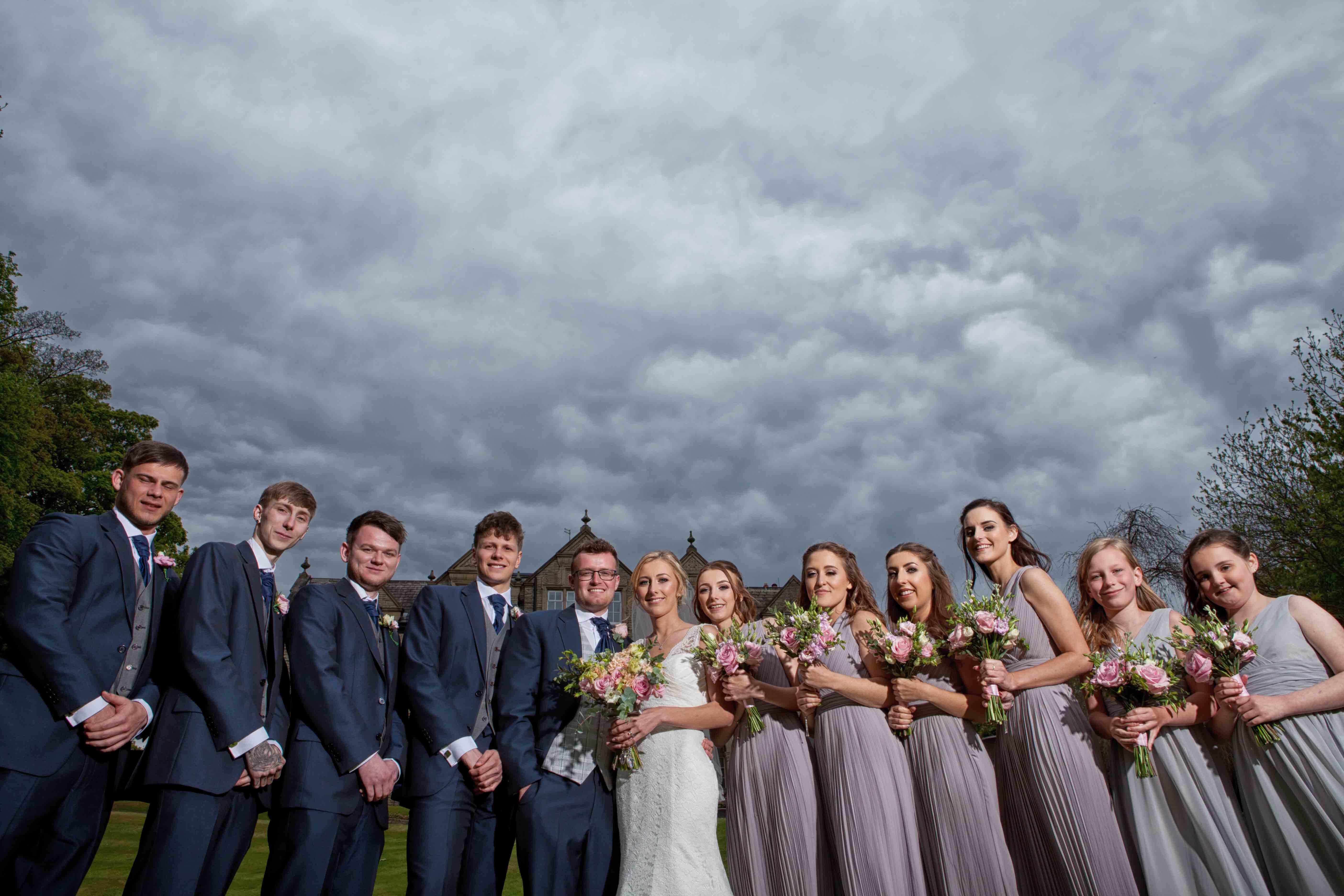 Woodlands Hotel Wedding Photography 002
